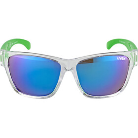 UVEX Sportstyle 508 Occhiali Bambino, clear green/green